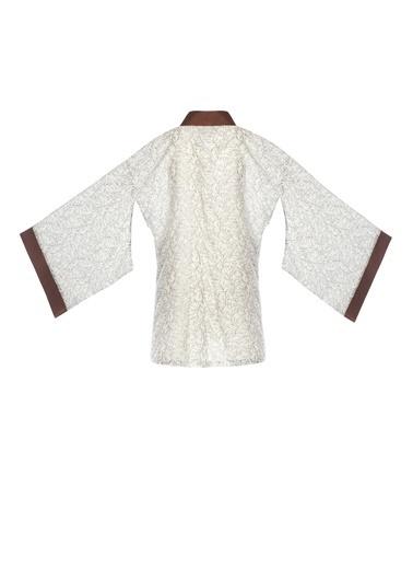 Women&Women Kimono Beyaz